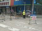 老百货大楼路段正在维修